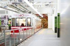 Σταθμός Beyoglu σηράγγων, Ιστανμπούλ Στοκ εικόνες με δικαίωμα ελεύθερης χρήσης