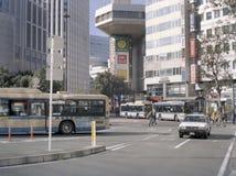 Σταθμός Buss σε Yokohama κεντρικό Στοκ Φωτογραφία
