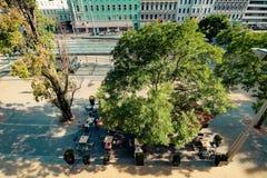 Σταθμός Franz-Joseph στη Βιέννη, Αυστρία Στοκ φωτογραφίες με δικαίωμα ελεύθερης χρήσης