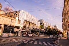Σταθμός Franz-Joseph στη Βιέννη, Αυστρία Στοκ φωτογραφία με δικαίωμα ελεύθερης χρήσης
