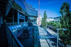 Σταθμός Franz-Joseph στη Βιέννη, Αυστρία Στοκ Εικόνα