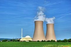 Σταθμός Grohnde πυρηνικής ενέργειας Στοκ φωτογραφία με δικαίωμα ελεύθερης χρήσης