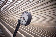 Σταθμός Guillemins, Λιέγη, Βέλγιο Στοκ εικόνα με δικαίωμα ελεύθερης χρήσης