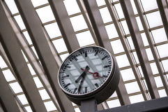 Σταθμός Guillemins, Λιέγη, Βέλγιο Στοκ Φωτογραφίες