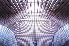 Σταθμός Guillemins, Λιέγη, Βέλγιο Στοκ εικόνες με δικαίωμα ελεύθερης χρήσης