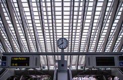 Σταθμός Guillemins, Λιέγη, Βέλγιο Στοκ φωτογραφίες με δικαίωμα ελεύθερης χρήσης