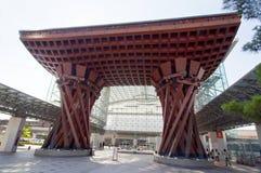 σταθμός kanazawa της Ιαπωνίας Στοκ φωτογραφία με δικαίωμα ελεύθερης χρήσης