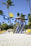 Σταθμός Lifeguard σε Punta Cana Στοκ Εικόνα