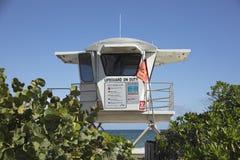 Σταθμός Lifeguard Στοκ φωτογραφία με δικαίωμα ελεύθερης χρήσης