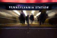 Σταθμός NYC της Πενσυλβανίας Στοκ φωτογραφία με δικαίωμα ελεύθερης χρήσης