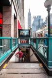 Σταθμός NYC Penn Στοκ Εικόνα