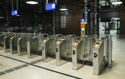 Σταθμός Ov Poortjes Άμστερνταμ Centraal Στοκ Εικόνες