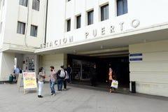 Σταθμός Puerto σε Plaza Sotomayor στο valparaiso Στοκ Εικόνα