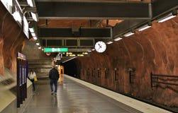 Σταθμός RÃ¥dhuset Στοκ φωτογραφίες με δικαίωμα ελεύθερης χρήσης