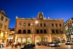 Σταθμός Rossio στη Λισσαβώνα, Πορτογαλία Στοκ Εικόνες