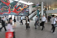 Σταθμός Shibuya Στοκ φωτογραφία με δικαίωμα ελεύθερης χρήσης