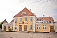 σταθμός skagen Στοκ Φωτογραφία