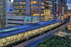 Σταθμός Tong Kwun, Χονγκ Κονγκ στοκ φωτογραφίες με δικαίωμα ελεύθερης χρήσης