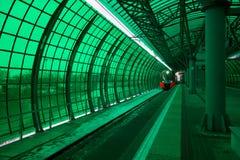 Σταθμός Tsentr Delovoy του μετρό της Μόσχας Στοκ Φωτογραφία