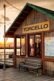 Σταθμός waterbus Torcello Στοκ φωτογραφία με δικαίωμα ελεύθερης χρήσης