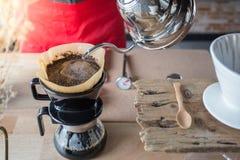 Σταλαγματιά καφέ στοκ φωτογραφία