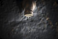 Σταλαγματιά νερού στοκ φωτογραφία