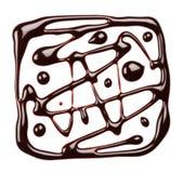 σταλαγματιά σοκολάτας στοκ εικόνες με δικαίωμα ελεύθερης χρήσης