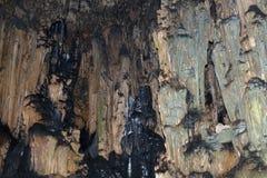 Σταλακτίτες μέσα στη σπηλιά, Άρτα στοκ εικόνες