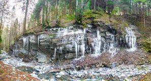 Σταλακτίτες του πάγου στοκ φωτογραφίες