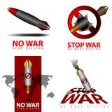 σταματήστε τον πόλεμο Στοκ εικόνες με δικαίωμα ελεύθερης χρήσης
