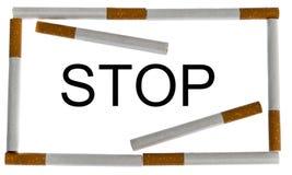 Σταματήστε το μήνυμα Στοκ φωτογραφίες με δικαίωμα ελεύθερης χρήσης