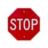 Σταματήστε το σημάδι στοκ φωτογραφίες