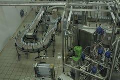 Σταματημένος μεταφορέας στο εργοστάσιο παραγωγής Στοκ Εικόνες