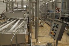 Σταματημένος μεταφορέας στο εργοστάσιο παραγωγής Στοκ Φωτογραφία