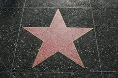 σταρ του Χόλιγουντ Στοκ Εικόνα
