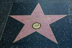 Σταρ του Χόλιγουντ της Janis Joplin Στοκ Φωτογραφίες