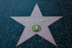 Σταρ του Χόλιγουντ του Andy Garcia Στοκ φωτογραφίες με δικαίωμα ελεύθερης χρήσης