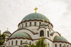 Σταυροί του καθεδρικού ναού του ST Sava σε Βελιγράδι Σερβία στοκ φωτογραφίες με δικαίωμα ελεύθερης χρήσης