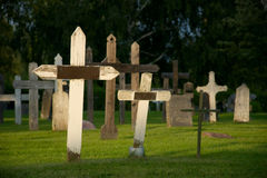σταυροί τρία Στοκ εικόνες με δικαίωμα ελεύθερης χρήσης