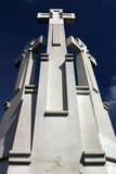 σταυροί τρία στοκ φωτογραφία με δικαίωμα ελεύθερης χρήσης