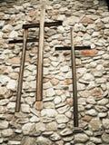 σταυροί τρία Στοκ εικόνα με δικαίωμα ελεύθερης χρήσης