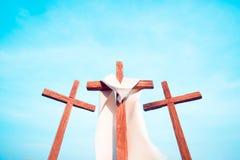 3 σταυροί στοκ φωτογραφίες