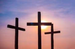 3 σταυροί στοκ φωτογραφία με δικαίωμα ελεύθερης χρήσης
