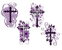 σταυροί Στοκ Εικόνες