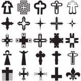 σταυροί Στοκ φωτογραφίες με δικαίωμα ελεύθερης χρήσης