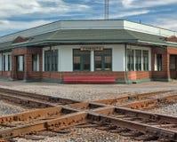 Σταυροδρόμια σιδηροδρόμου σε Corinth, Μισισιπής Στοκ φωτογραφίες με δικαίωμα ελεύθερης χρήσης