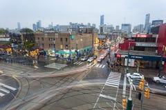 Σταυροδρόμια στο Τορόντο, Καναδάς Στοκ εικόνες με δικαίωμα ελεύθερης χρήσης