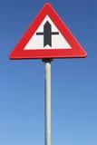 Σταυροδρόμια με την προτεραιότητα στοκ φωτογραφίες με δικαίωμα ελεύθερης χρήσης