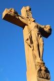 Σταυροδρόμια ο διαγώνιος Ιησούς Στοκ Εικόνες