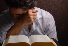 σταυρός Βίβλων Στοκ Φωτογραφίες